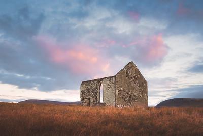Kilmuir Church Ruins. Isle of Skye, Scotland