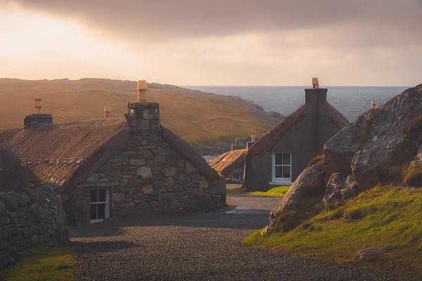 Gearrannan Blackstone Village, Scotland