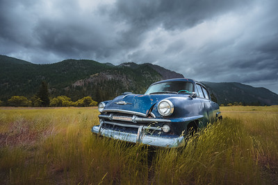 Blue Plymouth. British Columbia, Canada