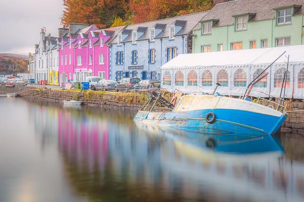 Portree. Isle of Skye, Scotland