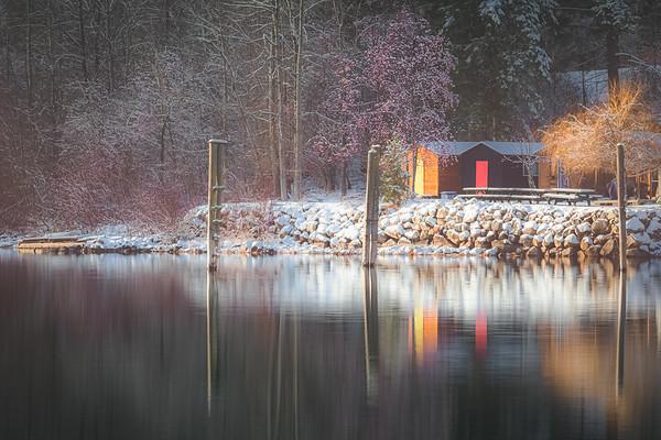 Winter on Kootenay Lake