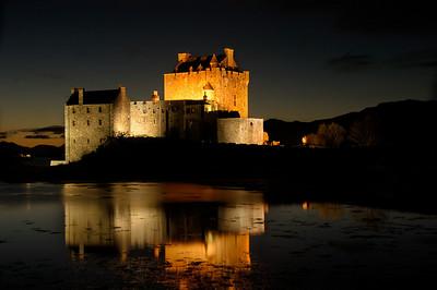 Eilean Donan Castle Scotland October 2003