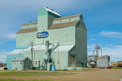 Grain Elevator  Dawson Creek Mile 0 Alaska Highway