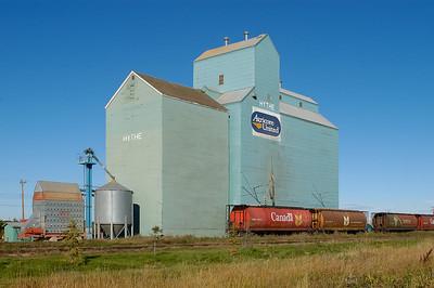Grain Elevator Hythe Alberta