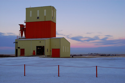 Mountain View Seed Cleaning Plant Carstairs AB   December 2007
