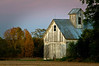 RL 005                      Sunset light on a weathered barn in Kendall County, IL.