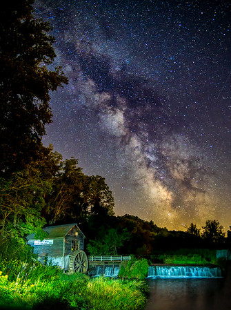 Milky Way at Hyde's Mill
