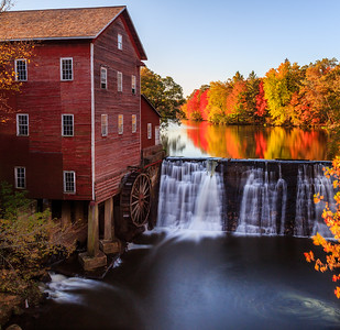 Autumn on the Mill Pond