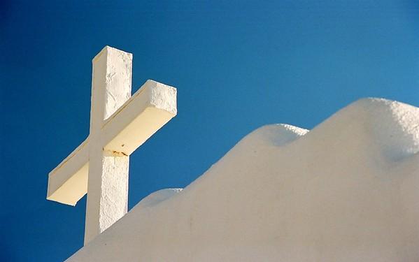 Taos Pueblo Mission Cross.
