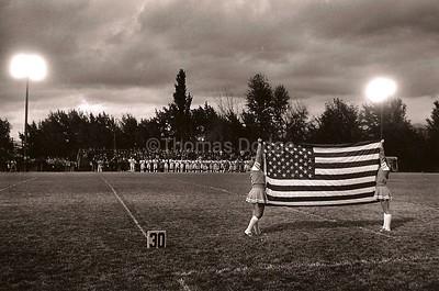 Friday Night Football, Missoula, MT, 1980.