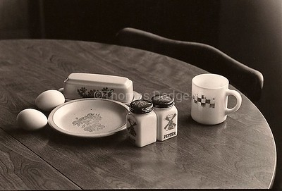 Breakfast Still Life, Truman, MN 1978