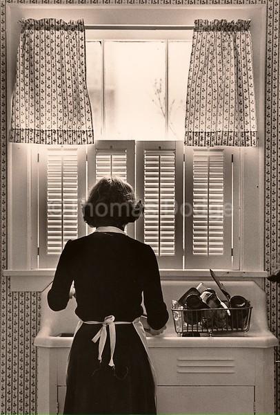 Sunday Dishes, Truman, MN, 1980.
