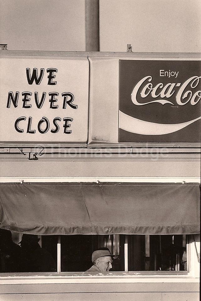 Cafe, Minnesota, 1978