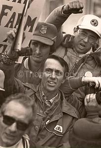 Farm Protest, Glenwood, MN, 1984.