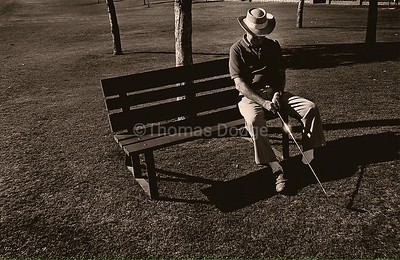 Dad Golfing, Sunland Village East, Mesa, AZ, 1998