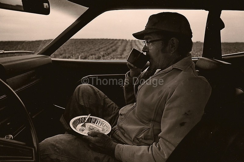 Afternoon Lunch Break, Truman, MN, 1982
