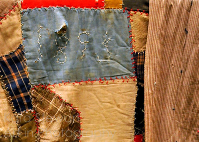 Quilt belongs to family of W. Gray McPherson, Snow Camp, NC Photo by Kara Stewart, Art in Photography