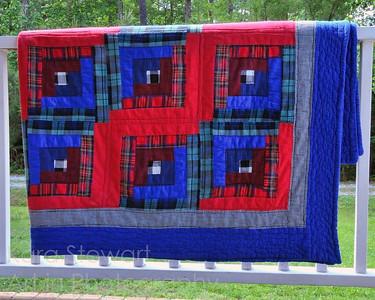 Plaid Quilt Photo by Kara Stewart, Art in Photography