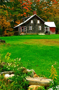 Abandoned house in Saratoga County, Upstate New York