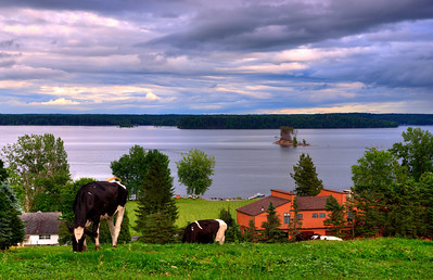 Farm With Lake View, Saratoga County, NY