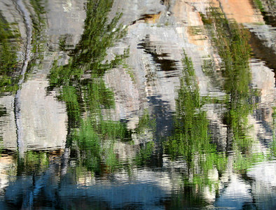 Reflection in Gem Lake