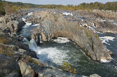 Great Falls. Almost no water