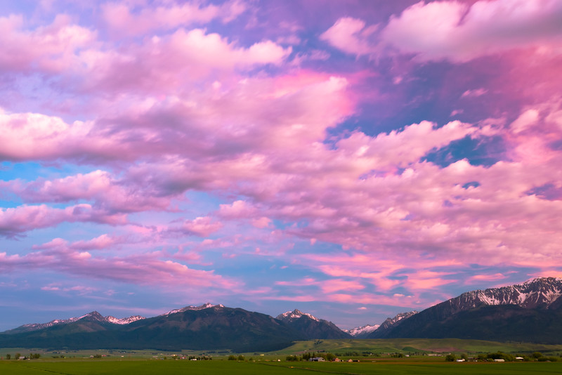 Wallowas Sunset