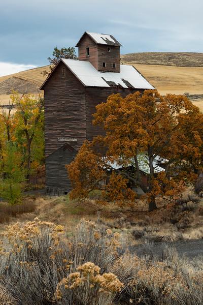 Boyd Granary in Autumn