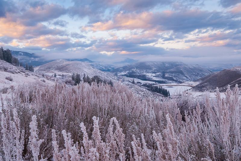 Methow Winter Sunset