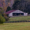 Horse Barn & Fall Foliage
