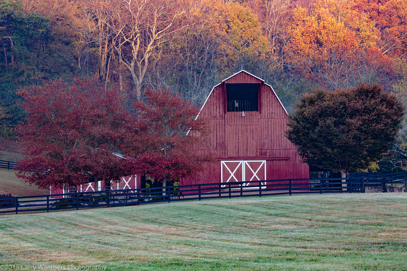 Elegant Red Barn
