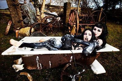 Models: Melissa & Danieille Photography: Angela Halpin