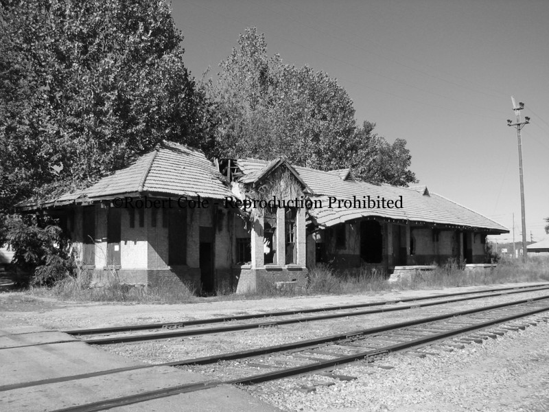 Old Railroad Depot in Pelzer, SC