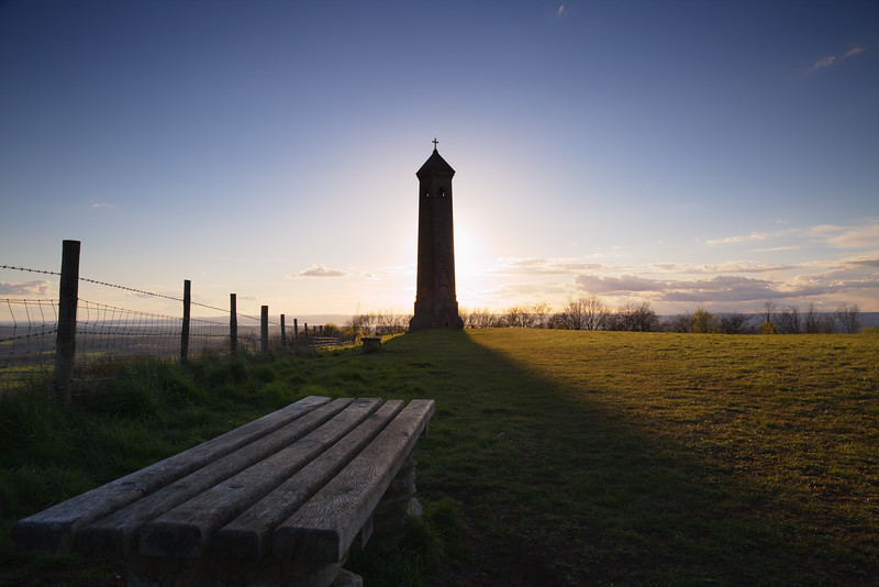 Tyndale Monument Silhouette