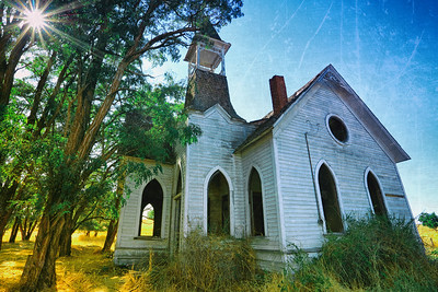 Abandoned Methodist Church