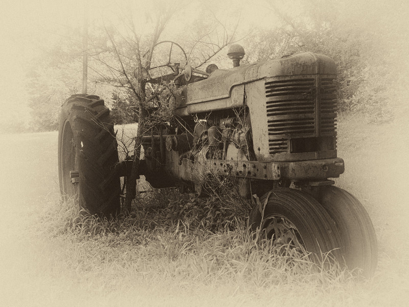 Old Tractor - Nostalgia