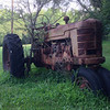 Tree Driving Tractor