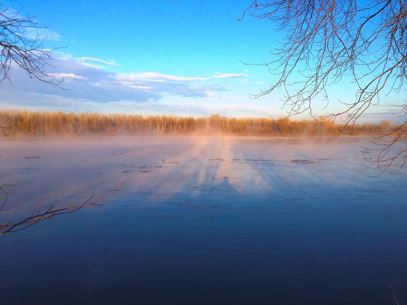 Missouri River Sunrise