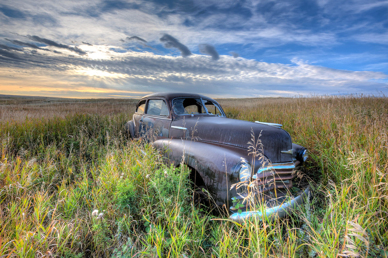 Old Abandoned Car