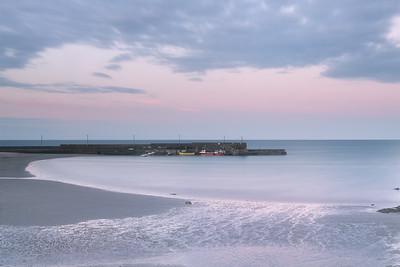 Pink Skies at Dusk ( Loughshinny )-1L8A9648