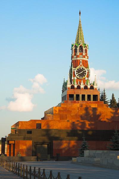 Mausoleo de Lenin y Torre Spasskaya