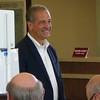Russ Feingold At Polling Place In Middleton, WI
