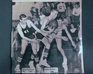 Photo on table: Doug Calhoun and Mike MIller.