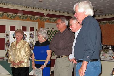 Sandy Potter, Mary Nolan, John Kidd, Otis Stull, and Larry Long