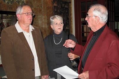 David Gilley (and wife) and Doug Calhoun