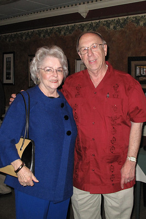 Mary Alice Nolan and Woodie Moore
