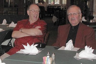 Woodie Moore and Doug Calhoun