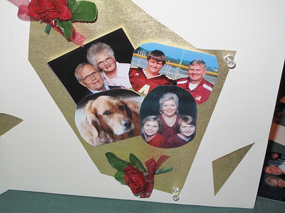 Ray Locey and Sandy Potter's family
