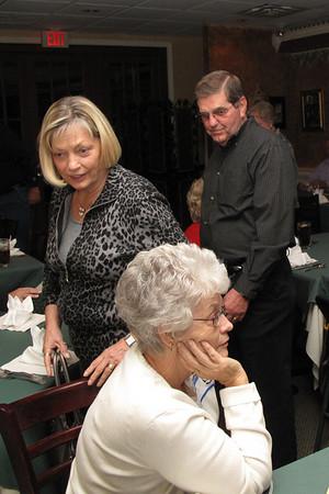 Jack Goebel (and wife) and Sandi Kinley (seated)
