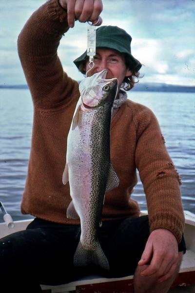 Graham Cullen trout fishing Lake Tarawera?